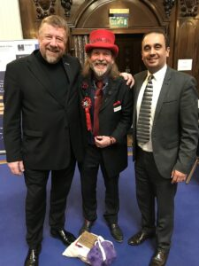 TR with paul Uppal and Ian Cass at #MicroBizMatters Day
